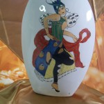 """Vase décor Danseuse Russe """"Toumanova"""" 280 x 200"""
